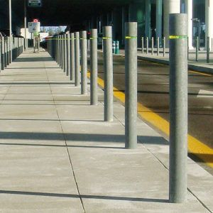 BOLLARDS & BICYCLE RACK