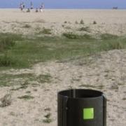Papelera RELEU 90L playa sin aro